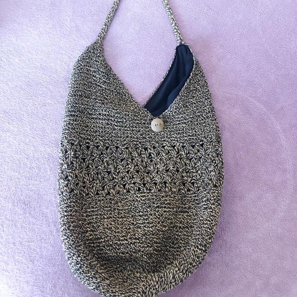 Handbags - Vintage Straw Crossbody Purse
